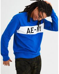 American Eagle - Ae Pique Long Sleeve Graphic Tee - Lyst