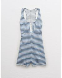 American Eagle - Sleep Romper - Lyst