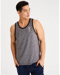 American Eagle - Ae Active Mesh Tank Top - Lyst