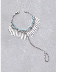 American Eagle - Silver Turquoise Hand Jewelry - Lyst