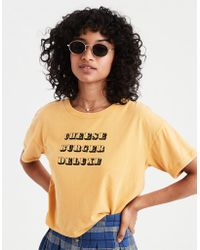American Eagle - Ae Fun Food Graphic Tee - Lyst