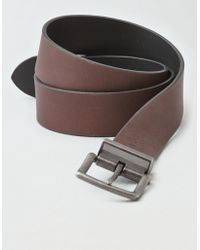 American Eagle - Ae Reversible Leather Belt - Lyst