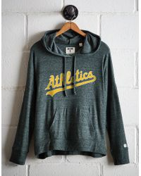 c8af785c1c51 Nike. Oakland Athletics Gym Vintage Full-zip Hooded Sweatshirt.  70. Macy s  · Tailgate - Women s Oakland A s Plush Hoodie - Lyst