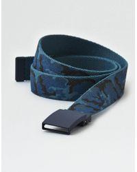 American Eagle - Printed Slide Belt - Lyst