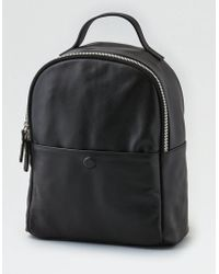 American Eagle - Ae Wander Leather Mini Backpack - Lyst