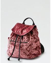 American Eagle - Drawcord Mini Backpack - Lyst