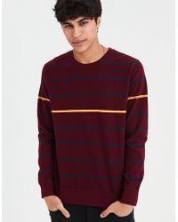 American Eagle - Ae Long Sleeve Striped T-shirt - Lyst