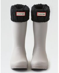 American Eagle - Hunter Cable Boot Sock - Lyst