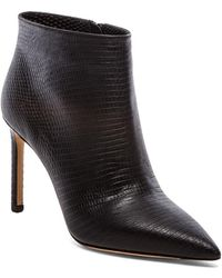 Vince Black Chara Bootie - Lyst