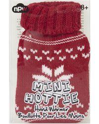 Topshop Red Snowflake Handwarmer - Lyst