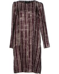By Malene Birger Knee Length Dress - Lyst