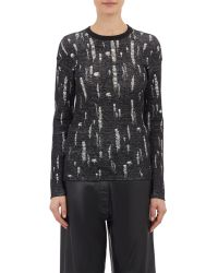 Loewe Snagged Double-Face Sweater - Lyst