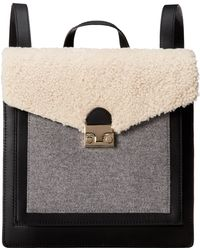 Loeffler Randall Lock Backpack - Lyst