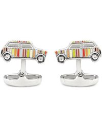 Paul Smith Stripe Car Cufflinks - Lyst