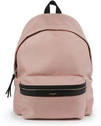 Saint Laurent | Nylon Hunting Backpack | Lyst