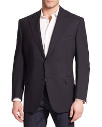 Canali Basic Wool Sportcoat - Lyst