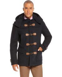 Hugo Boss Capez | Wool Blend Coat - Lyst