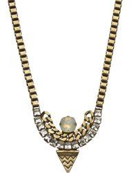 Lionette Tribeca Necklace gold - Lyst