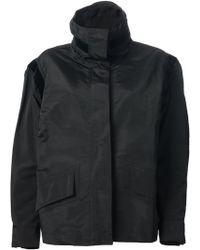 Yves Saint Laurent Vintage Cocoon Sleeve Windbreaker - Lyst