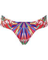 Mara Hoffman Supernova Reversible Bikini Briefs - Lyst