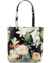 Ted Baker Floral Shopper Bag with Umbrella - Lyst
