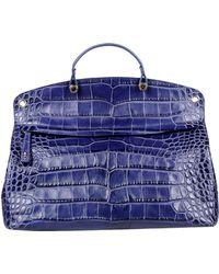 Furla Blue Handbag - Lyst