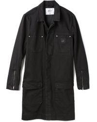 Cheap Monday Black Denim Coat - Lyst