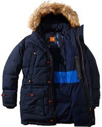 BOSS Orange - Outdoor Jacket 'Obend-W' In Fabric Blend - Lyst