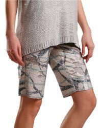Sachin & Babi - Patterned Bermuda Shorts - Lyst
