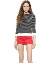 DSquared2 Stripe Pullover - Blackwhite - Lyst