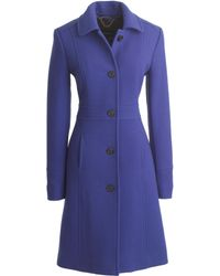 J.Crew Petite Double-Cloth Lady Day Coat With Thinsulate® - Lyst