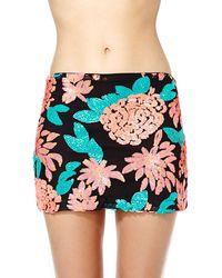 Nasty Gal Blossom Sequin Skirt - Lyst