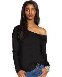 Polo Ralph Lauren Cotton Jersey Long-sleeved Tee - Lyst
