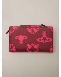 Vivienne Westwood Logomania New Medium Wallet - Lyst