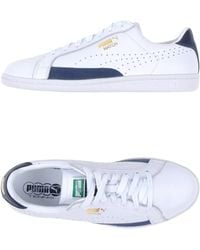PUMA Low-Tops & Trainers white - Lyst