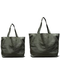 Kaufmann Mercantile Olive Canvas Carryall Tote green - Lyst