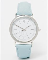 Asos Vintage Watch With Mini Dials - Lyst