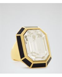 Reiss - Athena Ring With Crystals From Swarovski - Lyst
