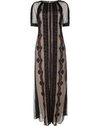 Temperley London Long Botanical Dress - Lyst