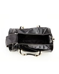 Fred Perry Black Barrel Bag - Lyst