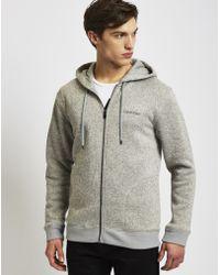 Calvin Klein | Plush Fleece Lounge Hooded Jacket | Lyst