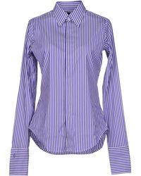 Ralph Lauren Purple Shirt - Lyst