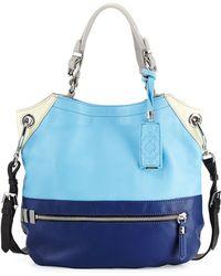 orYANY Sydney Colorblock Tote Bag blue - Lyst