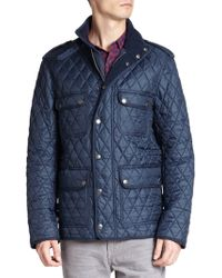 Burberry Brit Russell Quilted Field Jacket - Lyst