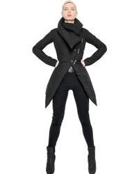 Gareth Pugh Pointed Nylon Puffer Jacket - Lyst