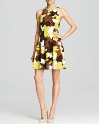Michael by Michael Kors Camouflage Scuba Dress - Lyst