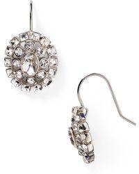 Lauren by Ralph Lauren - Oval Drop Earrings - Lyst