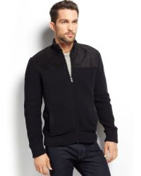 Inc International Concepts Italiano Faux-fur Lined Sweater Jacket - Lyst