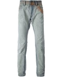 Diesel Stained Regular Jeans - Lyst
