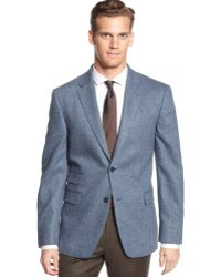 Tommy Hilfiger Herringbone Trim-fit Sport Coat - Lyst